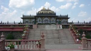Main entrance to Prabhupada's Palace of Gold