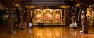 Sri Sri Radha Vrindabanchandra's Temple Room.