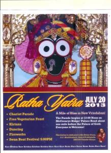2013 New Vrindaban Ratha Yatra