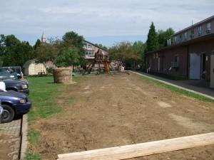Work completed on broken water line.