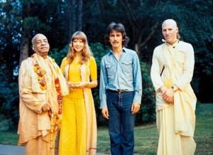 Srila Prabhupada with George Harrison