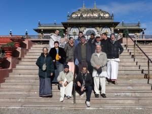 Board Members and others at Prabhupada's Palace