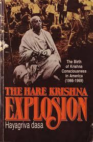 Hare Krishna Explosion Book Cover