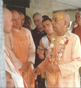 1976- Srila Prabhupada tours his Palace