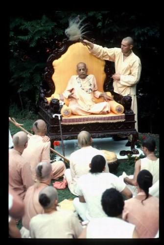 Prabhupada Madhuban New Vrindaban 1976