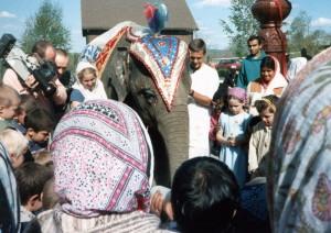 New Vrindaban Elephant Festival