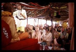 Prabhupada New Vrindaban Vyasa Puja 1972