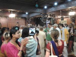 Agnideva das gets the crowd dancing.