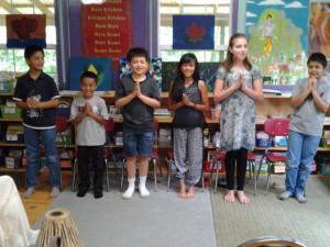 Reciting favorite Bhagavad Gita verses