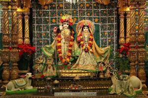 Sri Sri Radha Vrindaban Chandra love to hear Their devotees chanting.