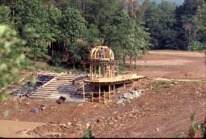 New Vrindaban Swan Lake Chatra 1983