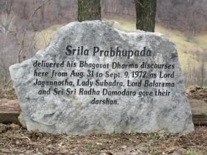 New Vrindaban Bahulaban Prabhupada Bhagavat Dharma 1972