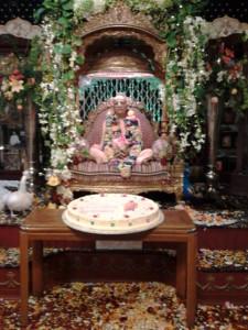 Srila Prabhupada Krishna Janmastami New Vrindaban 2014