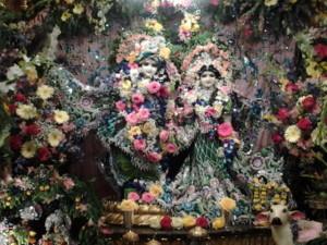 Radha Vrindavan Chandra Krishna Janmastami New Vrindaban 2014