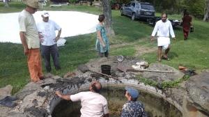 11 Maharaj, I thought you said this kunda was only 3 and ½ feet deep.