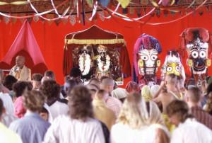 New Vrindaban Prabhupada, Radha Damodara Janmastami Vyasa Puja 1972