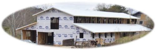 New Vrindaban Bahulaban Ox Barn Renovation 2014
