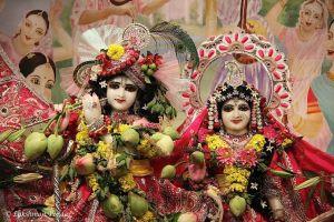 Sri Sri Radha Vrindaban Chandra New Vrindaban ISKCON