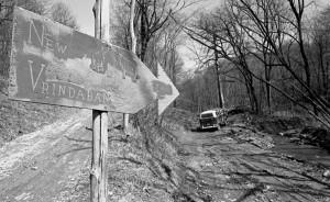 New Vrindaban Aghasura Road 1971