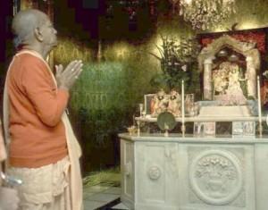 New Vrindaban Prabhupada Vrindaban Nath Radha 1976