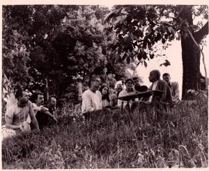 Prabhupada New Vrindaban 1969