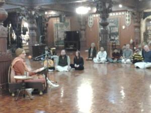 Varsana Maharaj gives Class
