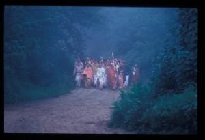 New Vrindaban ISKCON Prabhupada Talavan Talaban 1974