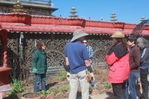 Prabhupada Palace of Gold New Vrindaban ISKCON Rose Garden