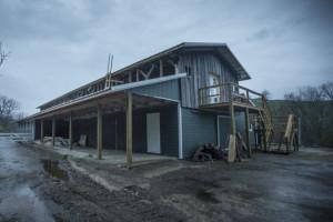 New Vrindaban Bahulaban Barn Renovation ECO-Vrindaban March 2015