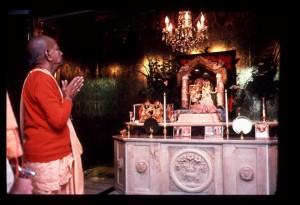 Prabhupada Visiting Radha Vrindaban Nath at the Original Farmhouse - New Vrindaban 1976