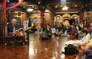 ISKCON New Vrindaban Hridayanada Das Goswami Radhastami 2015