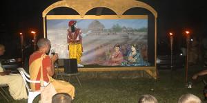 ISKCON New Vrindaban Janmastami Varsana Swami
