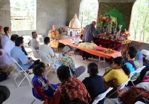ISKCON New Vrindaban Radha Gopinath Mandir Radhastami Varsana Swami 2015