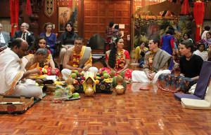 ISKCON New Vrindaban Radha Vrindavanchandra wedding Radhastami 2015