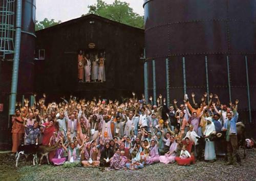 New Vrindaban ISKCON Bahulavan 1975 Barn Janmastami
