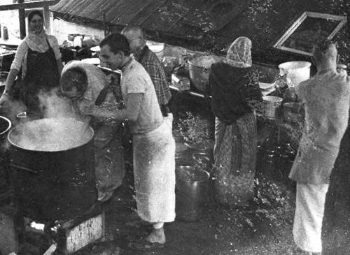New Vrindaban Bahulaban Pits Sobhavati, Sankirtan, Bhokta, Advaita, Kutila, Kuladri 1977 or 1978
