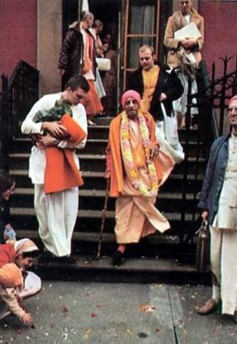 Prabhupada New York Henry Street Temple 1973 Dharmakala