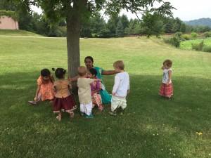 New Vrindaban ISKCON Gopal's Garden Preschool 2015