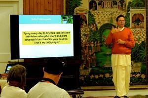 New Vrindaban ISKCON ECO-Vrindaban 2015 Jaya Krsna Prabhupada