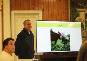 New Garden and Oxen Training manager, Nitai Candra Das ECO-Vrindaban New Vrindaban ISKCON 2015