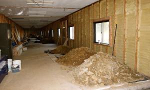 Palace Lodge rooms under construction ISKCON New Vrindaban