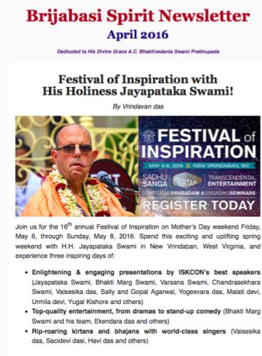 FOI Jayapataka Maharaj