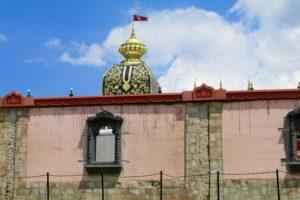 Prabhupada's Palace block wall restoration ISKCON New Vrindaban