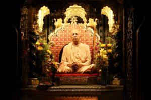 Prabhupada murti Palace of Gold ISKCON New Vrindaban
