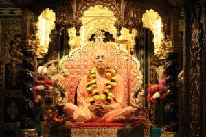 Prabhupada at his Palace of Gold ISKCON New Vrindaban