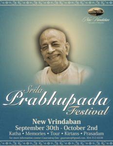 Srila Prabhupada Festival New Vrindaban