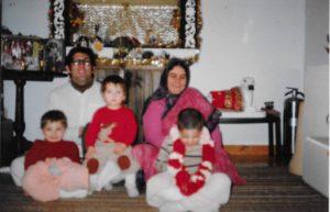 Amburish Pitambar family New Vrindaban