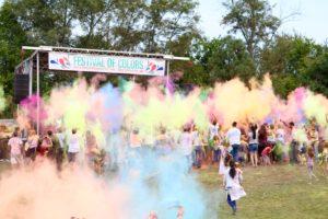 Festival of Colors Prabhupada's Palace of Gold ISKCON New Vrindaban