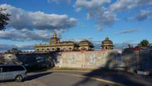 Restoration of Prabhupada's Palace Wall ISKCON New Vrindaban