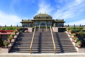 Prabhupada's Palace of Gold renovations ISKCON New Vrindaban